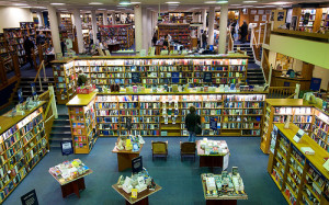 Your book could end up in a store like this! But for how long? (Blackwells boosktore, picture by noodlepie)