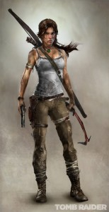 The new-look Lara. Gotta say, I like it.