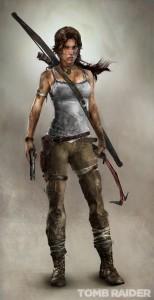 The new-look Lara. Gotta say, I like it.